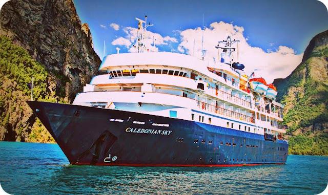Terumbu Karang di Laut Raja Ampat Dirusak Kapal Pesiar Caledonian Sky