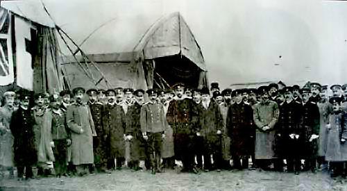 Открытие Севастопольской авиашколы. Ноябрь, 1910 г.