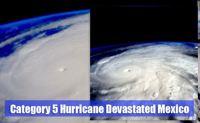 Category 5 Hurricane Devastated Mexico