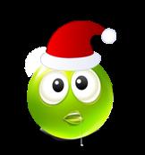 Christmas Smiley Icon 26