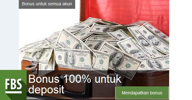 Bonus Deposit 100%
