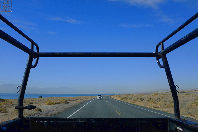 Le Chameau Bleu - Sur la route de Salton Sea - Californie du Sud  USA