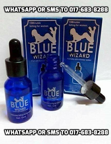 bonanza blue wizard 15ml perangsang wanita terhebat