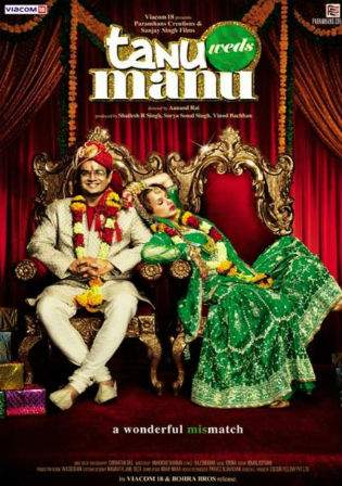 Tanu Weds Manu Returns 2015 BRRip 900MB Hindi Movie 720p Watch Online Full Movie Download Worldfree4u 9xmovies