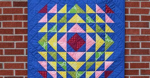 In Color Order Patchwork Essentials Radiant Baby Quilt