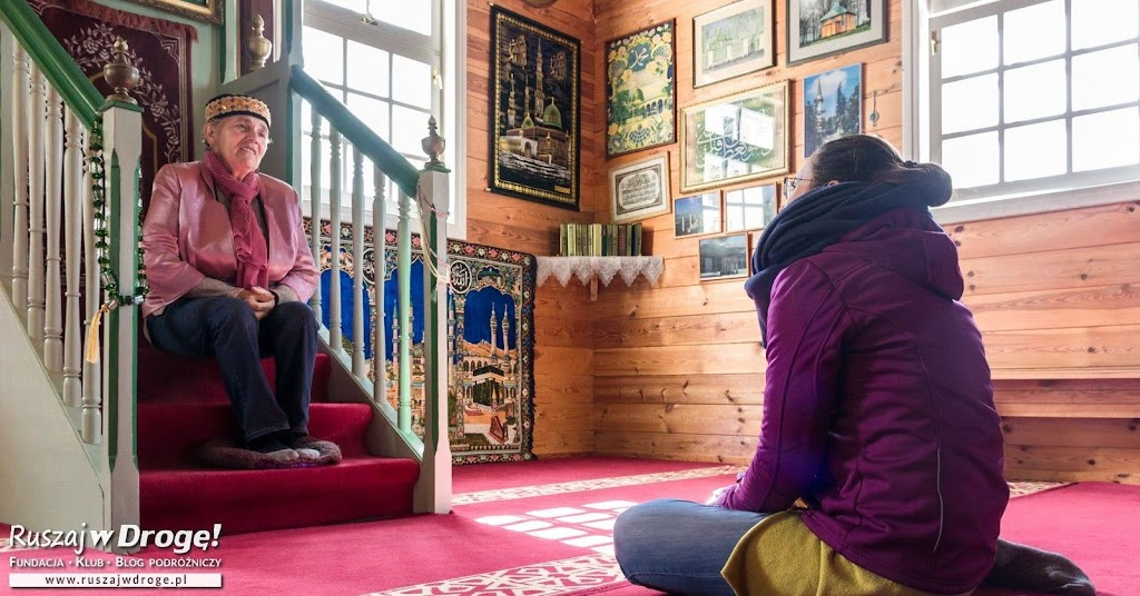 Meczet w Bohonikach na Podlaskim Szlaku Tatarskim w Polsce