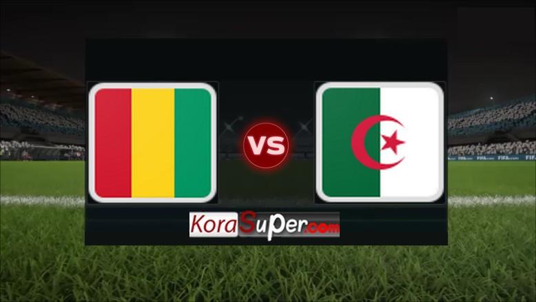 مشاهدة الجزائر وغينيا 07/07/2019