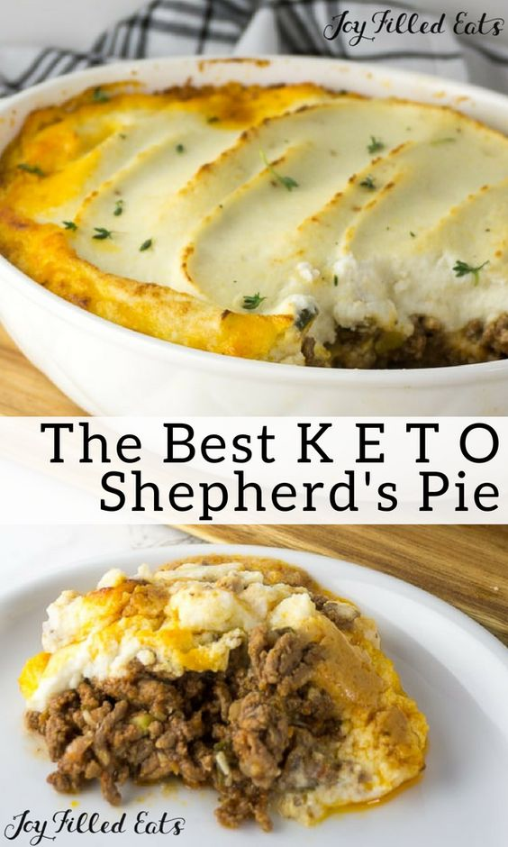 Shepherd's Pie with Recipe Cauliflower Topping #maincourse #dinner #shepherd's #pie #cauliflower #topping
