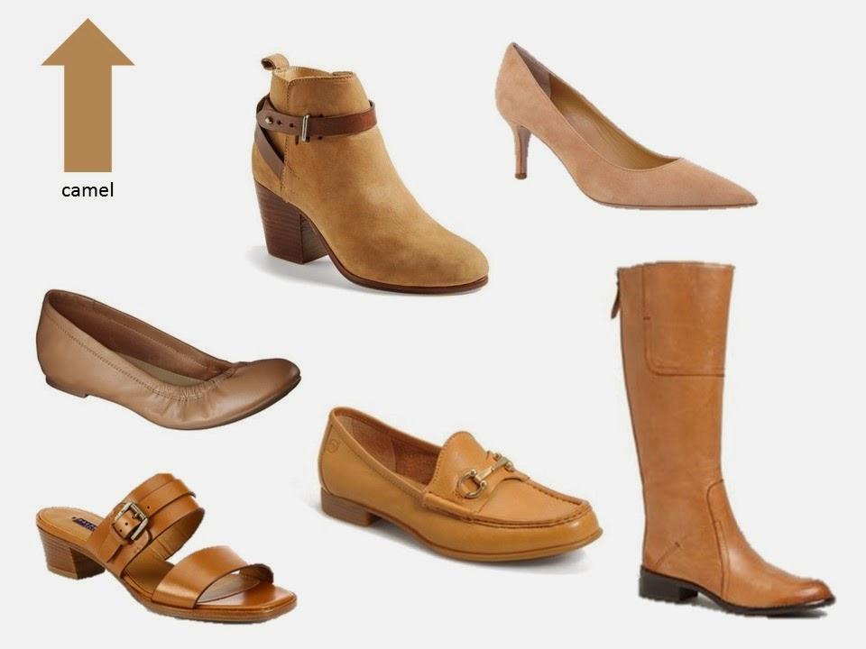six classic camel shoe styles