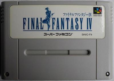 Final Fantasy IV (Jap) - Cartucho delante