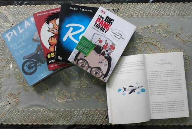 koleksi buku keren dilan si juki re maman suherman the big pang theory pangeran siahaan dan kokoro no tomo i heart tokyo