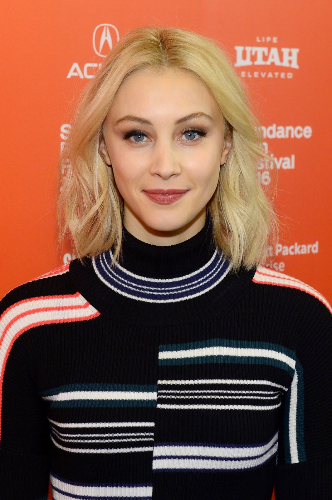2016 Sundance Film Festival - Sarah Gadon at 1.22.63 Premiere in Park City, Utah