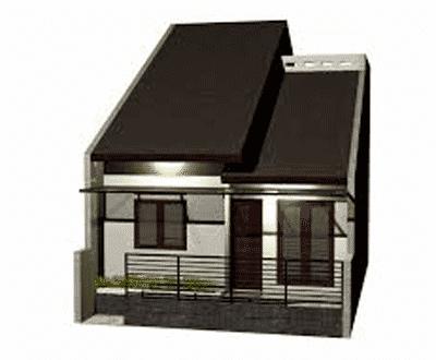 bentuk rumah sederhana ukuran 6x12