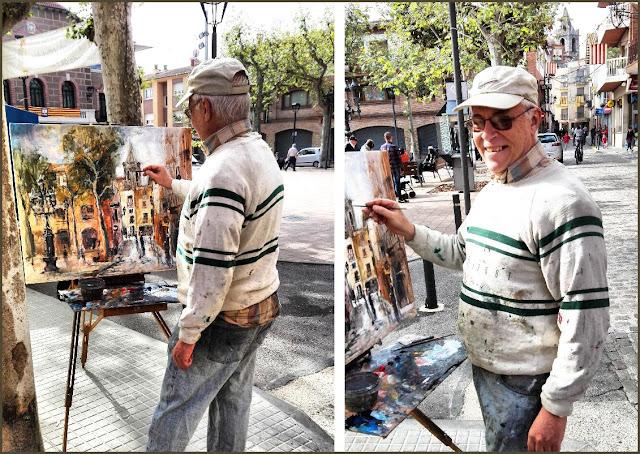 SANTA MARIA DE PALAUTORDERA-PINTURA-FOTOS-ARTISTA-PINTOR-PINTANDO-PAISAJES-ERNEST DESCALS