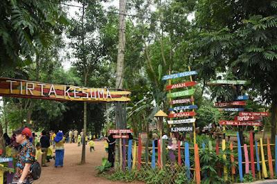 Objek Wisata Embung Tirta Kesuma Purbolinggo Lampung Timur Tawarkan Kosep Wisata Edukasi