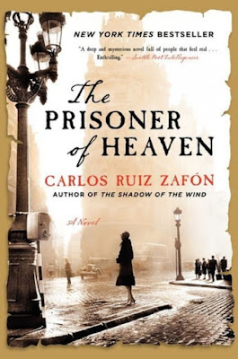 The Prisoner of Heaven by Carlos Ruiz Zafon - book cover