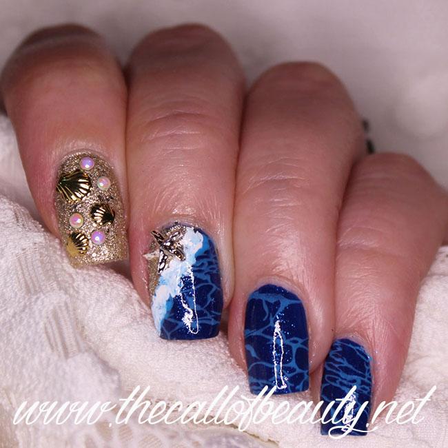 Ocean Life Nail Art
