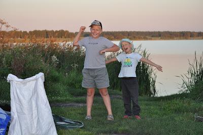 На озере Малый Кисегач