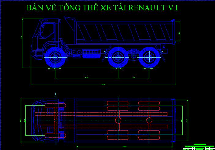 tổng thể xe tải RENAULT