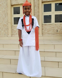 Mercy Aigbe's Son