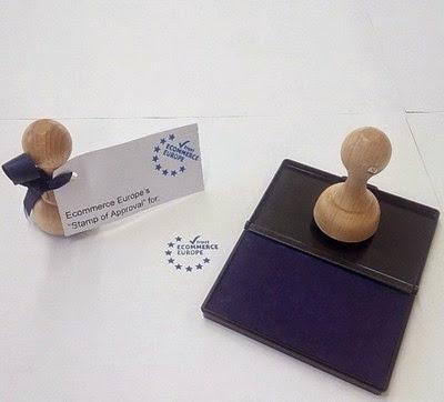 圖片說明: 歐洲電商信賴標章印章,圖片來源: Ecommerce Europe 新聞稿