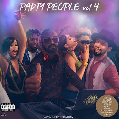 [Download Mixtape] Classy DJ Exprezioni – Party People Vol. 4 Mix
