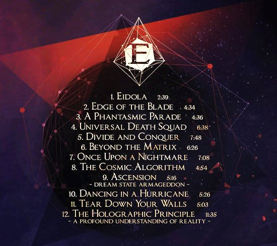 EPICA - The Holographic Principle [2CD Limited Edition Digipak] (2016) back