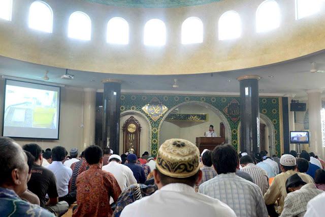 Khatib yang Memaki KH Said Aqil Siradj saat Khutbah ini ternyata Bernyali Ciut