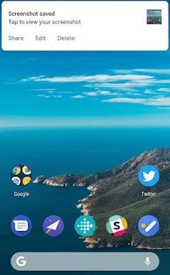 Cara Mengambil Screenshot di Android P,Ini Caranya 3