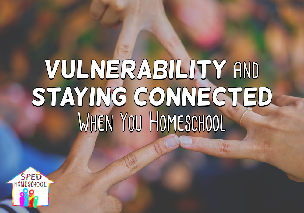 Vulnerability and Staying Connected When You Homeschool