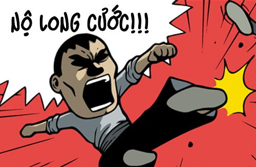 Lee Chul (bộ mới) phần 21: Nộ long cước