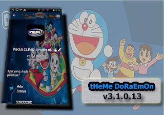 BBM Mod Doraemon Game Theme V3.1.0.13 Apk