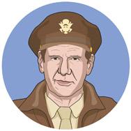 Hanover Street, 1979: EL TENIENTE DAVID HALLORAN: Un piloto estadounidense de bombarderos en la Segunda Guerra Mundial.
