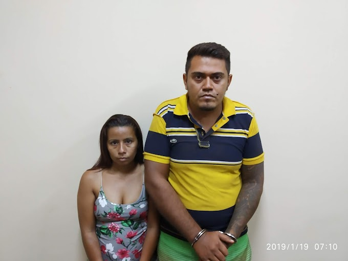 DUAS PESSOAS FORAM PRESAS PELAS POLICIAS CIVIL E MILITAR EM ALENQUER.