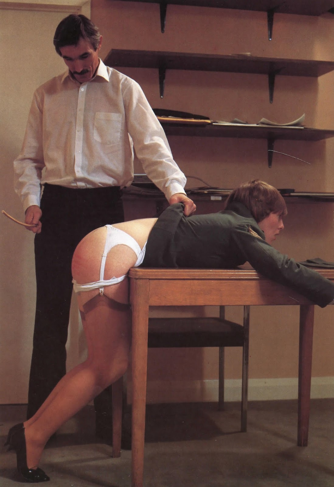 Men Being Spanked