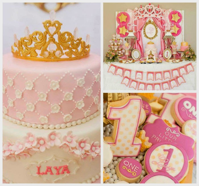 Princess First Birthday Theme Idea