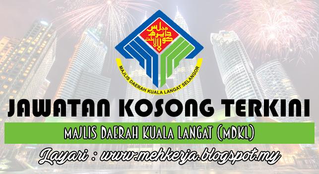 Jawatan Kosong Terkini 2016 di Majlis Daerah Kuala Langat (MDKL)