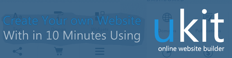 Create own business website with in minutes