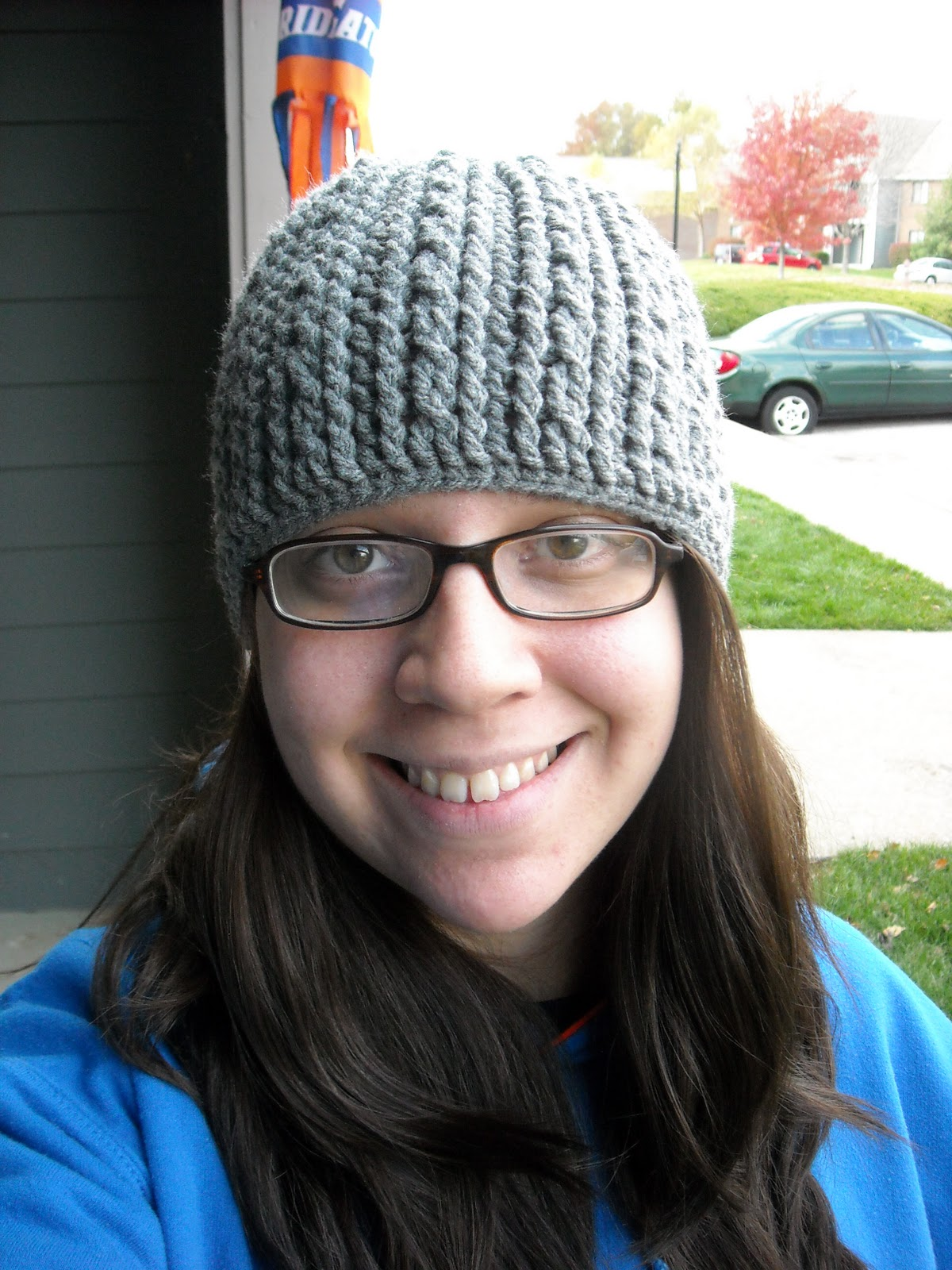 Think-Courage-Strength  Braided Cable Hat Pattern (2 sizes) bb430714283