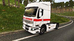 Company Painting PL Logistics skin for Renault Premium