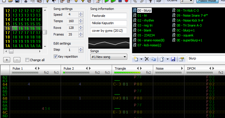 Yotes Games: Learning FamiTracker & Mixcraft (Eventually)