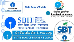 Image result for 5 banks to merge in SBI