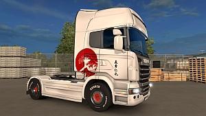 Japan Scania R skin