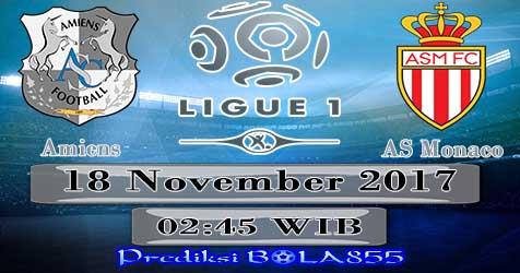 Prediksi Bola855 Amiens SC vs AS Monaco 18 November 2017