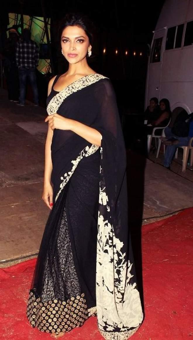 Gorgeous Deepika Padukone in saree Photos| Deepika ...