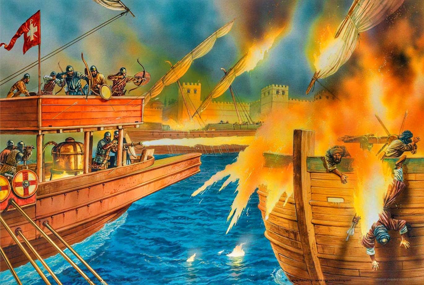 the reasoning behind the original greek fire and its use as a weapon Ancient greek inventions   fire, and cannon shots  the great achievement in the field was the emphasis on deductive reasoning, that is forming a logically.