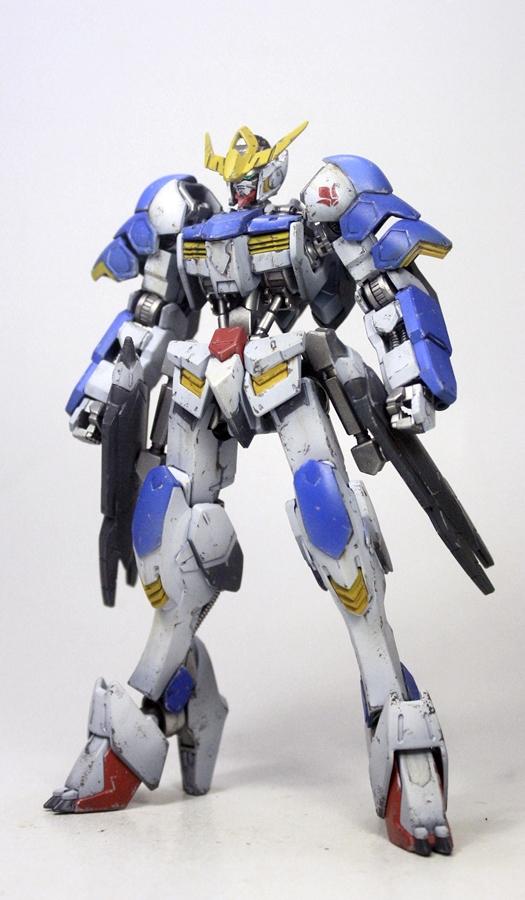 Custom Build: HG 1/144 Gundam Barbatos Form 6 Repair - Gundam Kits ...
