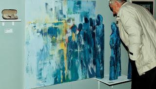 RickShaw House Gallery, obraz Elżbiety Chojak Myśko