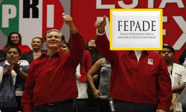 Durante las elecciones, Fepade desechó el 96% de las denuncias contra el PRI.