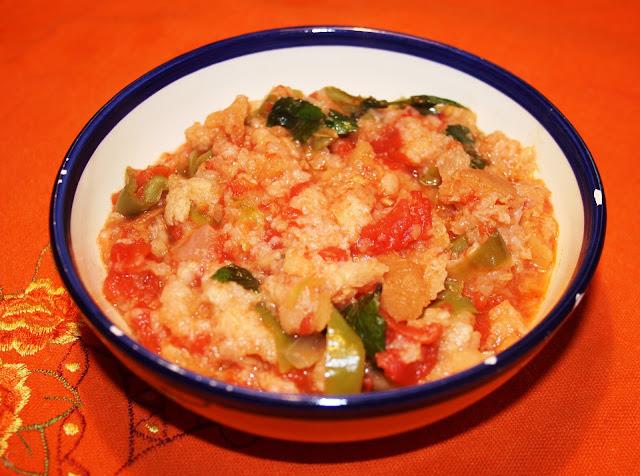 Alocados en la cocina sopa de tomate